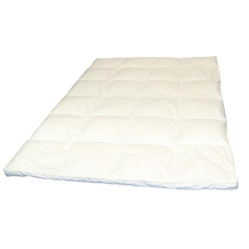 warme daunendecke winter 5 cm steg innen au en 4x6 daunenbett 155x220 cm 1400 g ebay. Black Bedroom Furniture Sets. Home Design Ideas